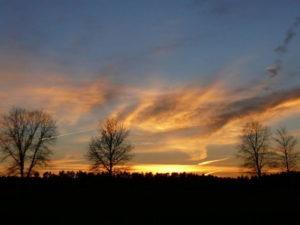zachód słońca Qń 2007