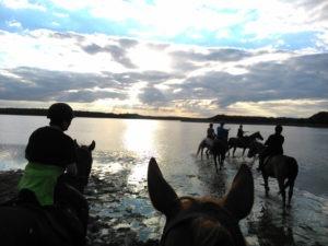 Jezioro Okrągłe w Kręgu - rajdy Qń 2015