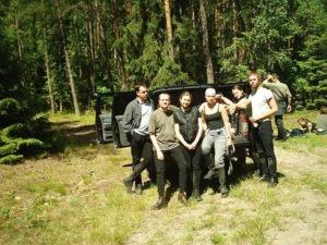 Leśnictwo Legbąd - -rajd po Borach Tucholskich 2004